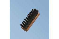 Af træ børste 13 cm, mørkebrun