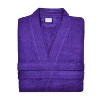 Frotee hommikumantel XL violetne