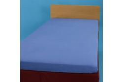 Lagen med gummi 90*200 cm trikotage blå