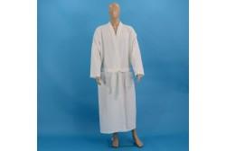 Vaffel badekåbe XL hvid