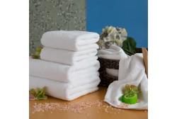Håndklæde LUX 75*150 cm hvid, 600 g/m2
