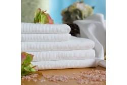 Vaffelhåndklæde 70*140 cm hvid