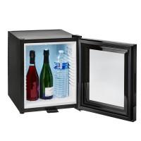 Minibaar klaasuksega 40 L, must