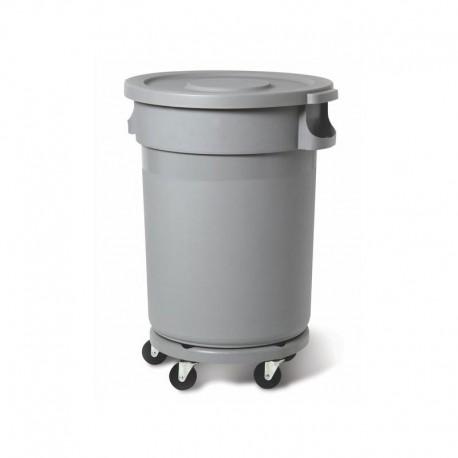 Plastik prügikonteiner 80L, hall