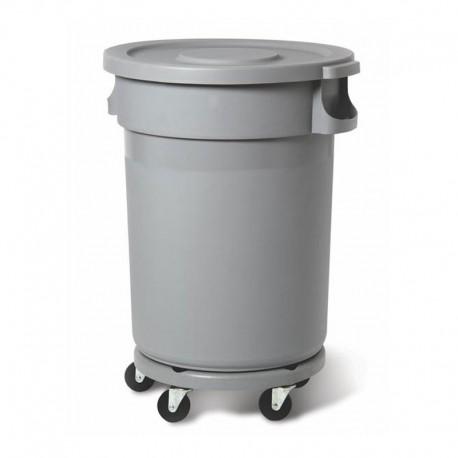 Plastik prügikonteiner 120L, hall