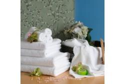 Håndklæde 100*150 cm hvid