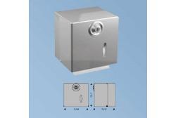 WC-paberi doseringsapparat metal, matt