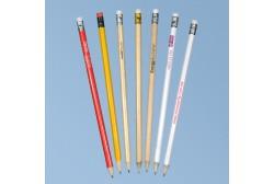 Almindelig blyant med viskelæder