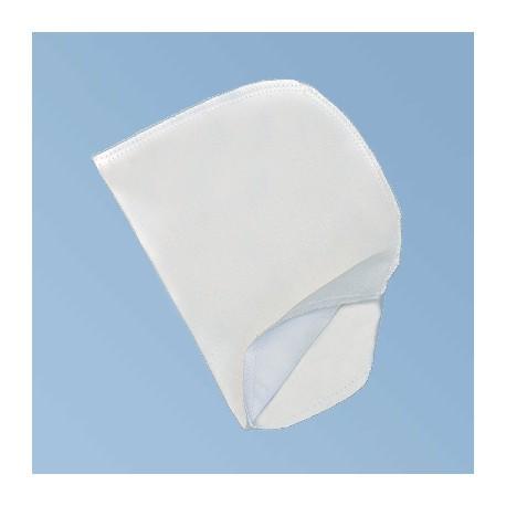 Skopudshandske, hvid