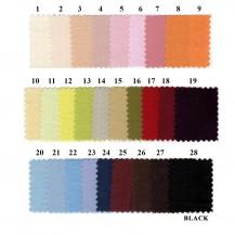 Farverigt sengetøj