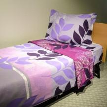 Mønstret sengelinned Lily