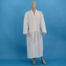 Hvid vaffel badekåber